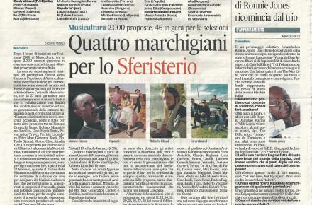 Pubblicità Cantamonte su Corriere Adriatico